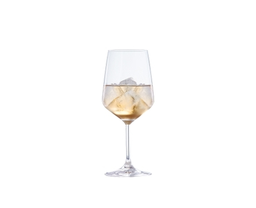 SPIEGELAU Special Glasses Summer Drinks filled with a drink on a white background