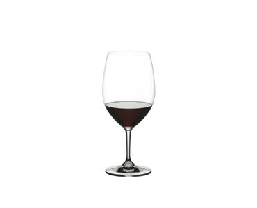 NACHTMANN ViVino Bordeaux filled with a drink on a white background