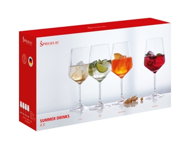 SPIEGELAU Special Glasses Summer Drinks in the packaging