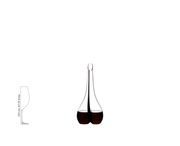 RIEDEL Decanter Black Tie Smile a11y.alt.product.filled_white_relation