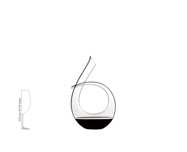 RIEDEL Decanter Black Tie a11y.alt.product.filled_white_relation