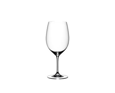 Empty Vinum Cabernet Glass on white background