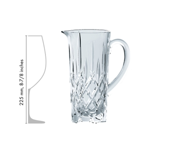 NACHTMANN Noblesse Pitcher in relation to another product