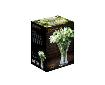 NACHTMANN Saphir Vase (18 cm, 7 in) in the packaging