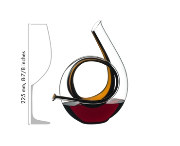 RIEDEL Decanter Horn Mini in relation to another product