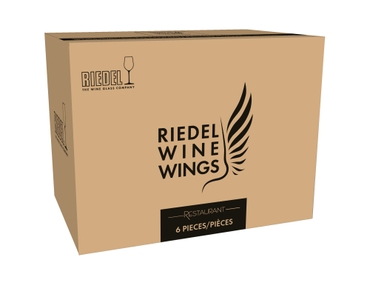 RIEDEL Winewings Restaurant Champagner Weinglas in der Verpackung
