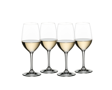 NACHTMANN ViVino Aromtic White Wine filled with a drink on a white background