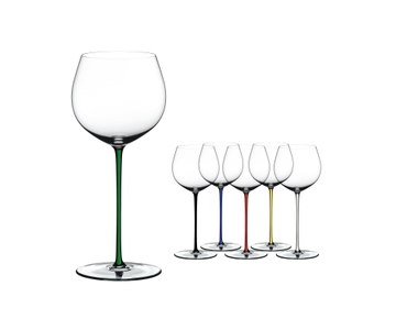RIEDEL Fatto A Mano Oaked Chardonnay Green a11y.alt.product.colours