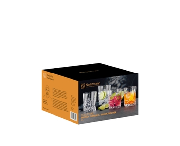 NACHTMANN Sculpture Whisky Tumbler Set/4 in the packaging