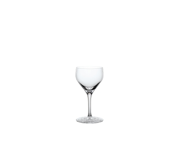 Unfilled Spiegelau Perfect Serve Collection Nick & Nora Glass on white background