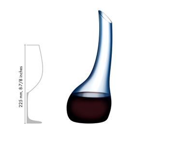 RIEDEL Decanter Cornetto Confetti Blue im Verhältnis zu einem anderen Produkt