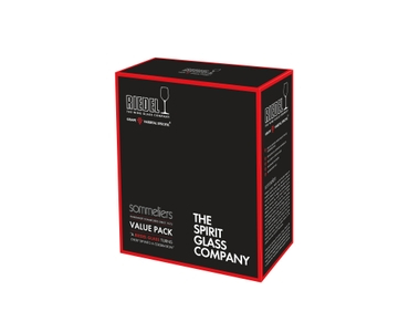 RIEDEL Sommeliers Single Malt Whisky Vorteilsset in der Verpackung