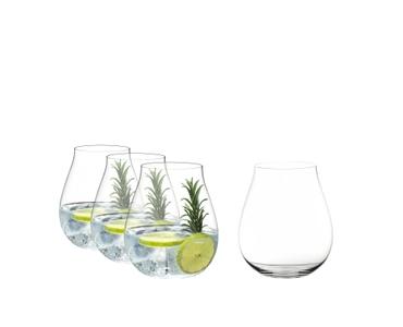 RIEDEL Gin Set gefüllt mit einem Getränk auf weißem Hintergrund