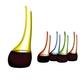 RIEDEL Decanter Cornetto Confetti Yellow a11y.alt.product.colours