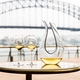 RIEDEL Decanter Black Tie Amadeo R.Q. in use