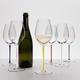 RIEDEL Fatto A Mano Champagne Wine Glass in use