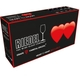 Unfilled RIEDEL Heart To Heart Champagne Glass on white background