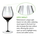 RIEDEL Fatto A Mano Performance Pinot Noir Black Stem a11y.alt.product.optical_impact