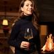 RIEDEL Winewings Restaurant Champagner Weinglas im Einsatz
