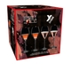 Sample packaging of a RIEDEL Extreme Rosé Wine / Rosé Champagne Glass value 4-pack