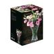 NACHTMANN Saphir Vase (24 cm, 9 4/9 in) in the packaging