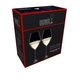 Sample packaging of a RIEDEL Veritas Champagne Wine Glass two pack