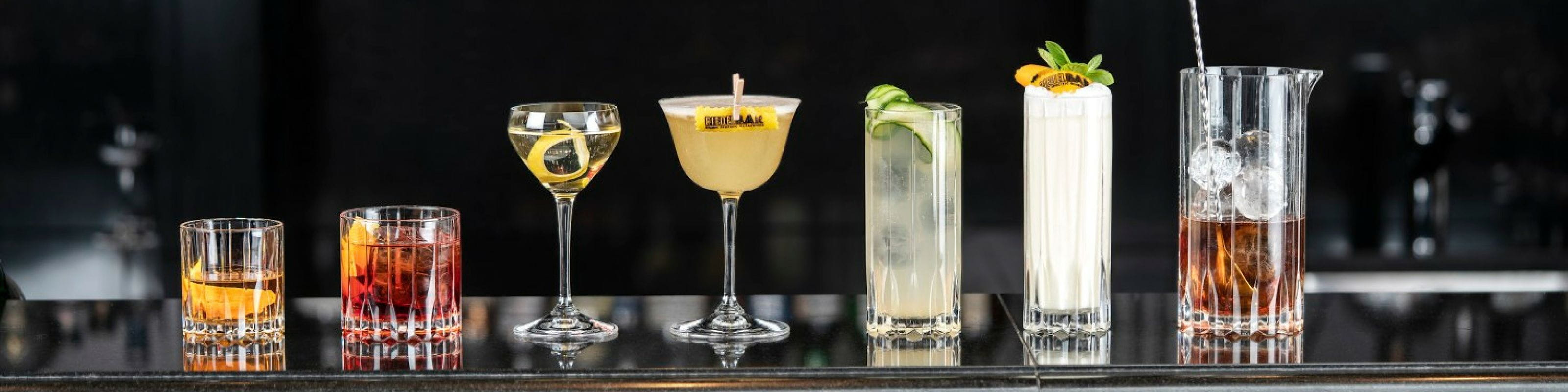 RIEDEL Bar Drink Specific Glassware Collection