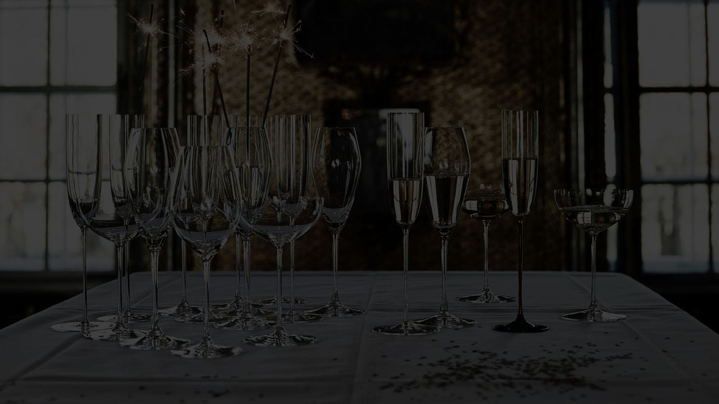 RIEDEL Champagne glasses of several collections