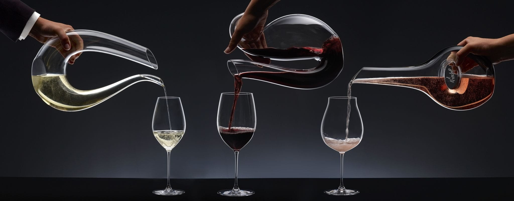 The art of wine decanting with RIEDEL decanters