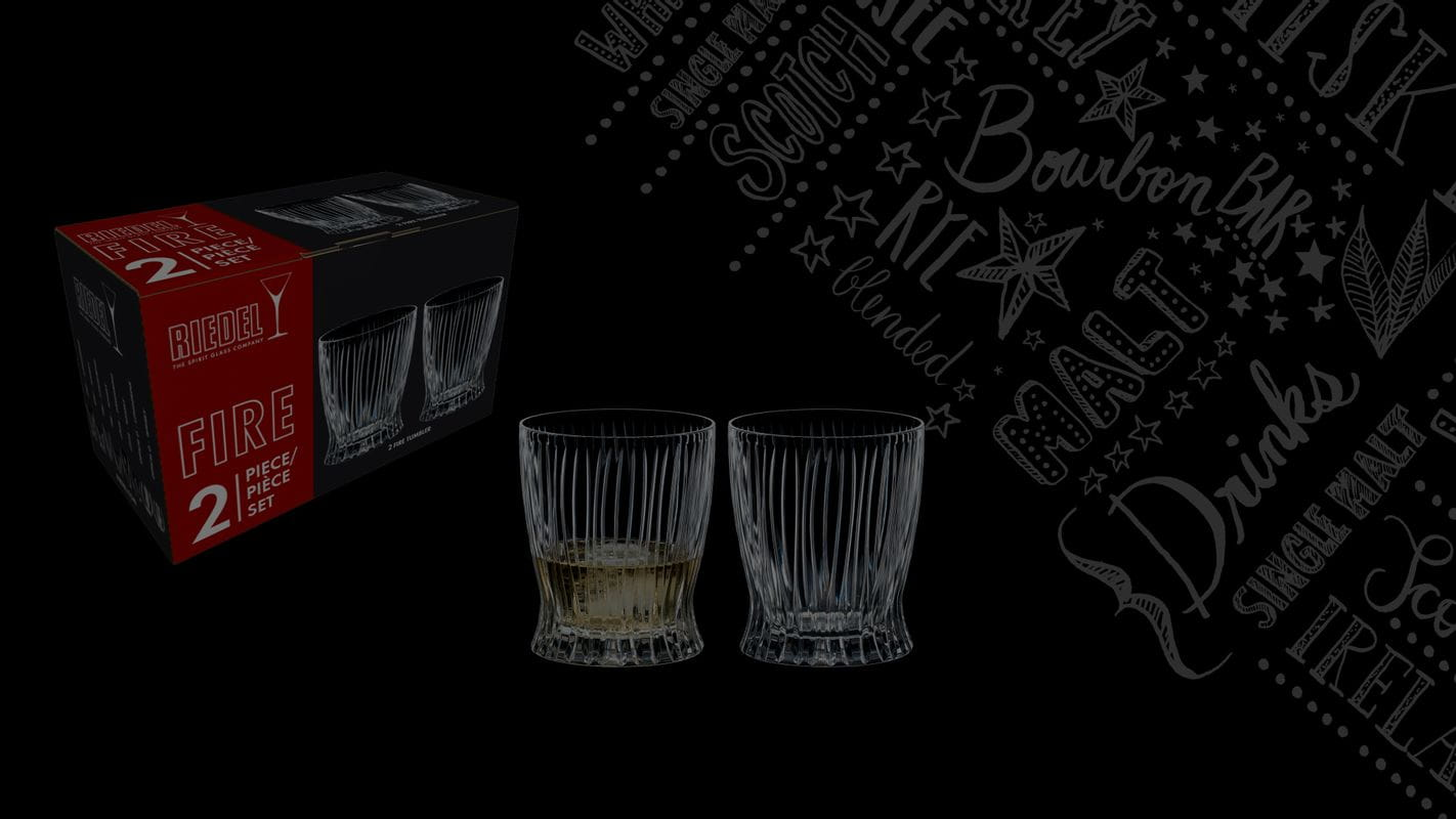 Free set of two RIEDEL Tumbler Collection Fire Whisky for every order placed between 2021/06/06 and 2021/06/20.