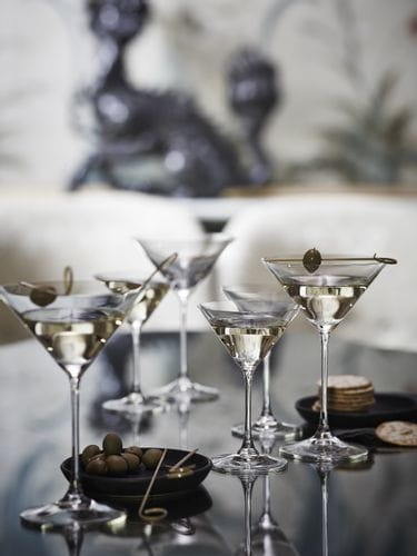 RIEDEL Martini glasses