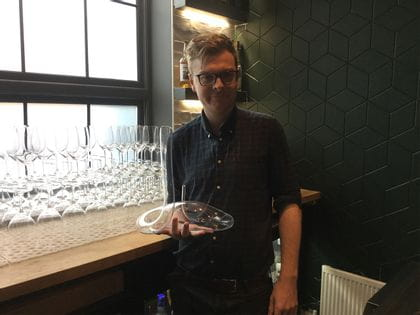 RIEDEL's Sommelier of the Month for February 2020 is Rob Maynard