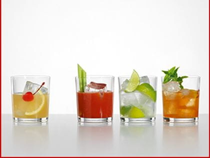 Spiegelau Cocktail and Mixdrinks glasses