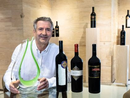 2020 Riedel Austria Winemaker of the Year Eduardo Chadwick