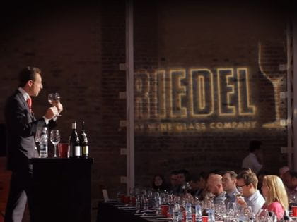 RIEDEL wine glass tasting with Maximilian Riedel