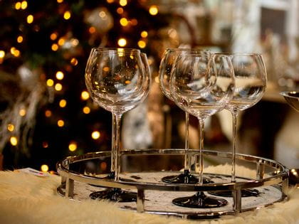 Christmas with RIEDEL stemware