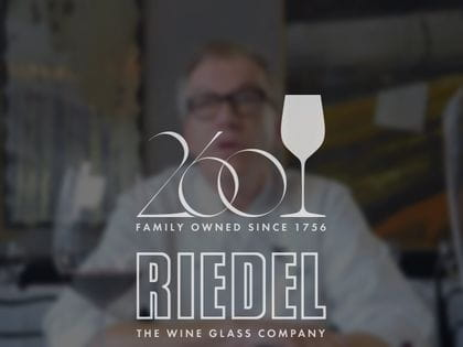 Screen grab 260 years RIEDEL video