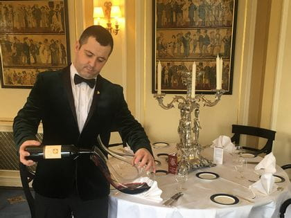 RIEDEL's sommelier of the month for March 2017 is Andre Luis Martins