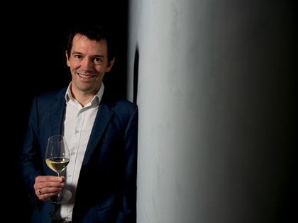 Tyson Stelzer with RIEDEL Champagne Glass