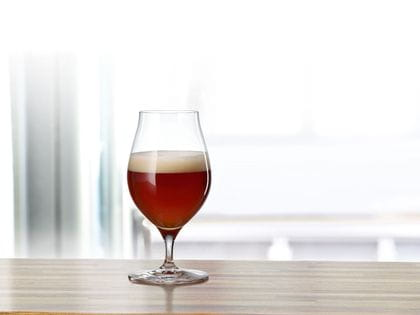 Craft Beer Barrel Aged Beer glass