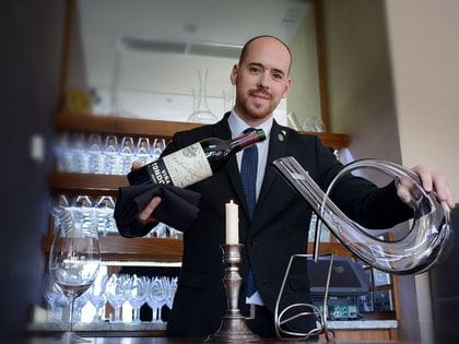 RIEDEL's sommelier of the month for October 2019 is Tamas Czinki