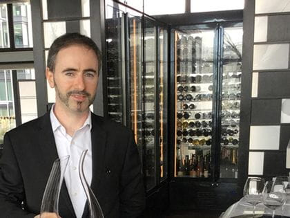 RIEDEL's sommelier of the month for November 2017 is Diego Muntoni