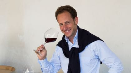 Maximilian Riedel with Extreme Pinot Noir