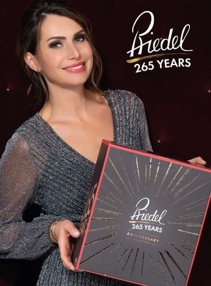 Cover of the brochure 265 years of RIEDEL