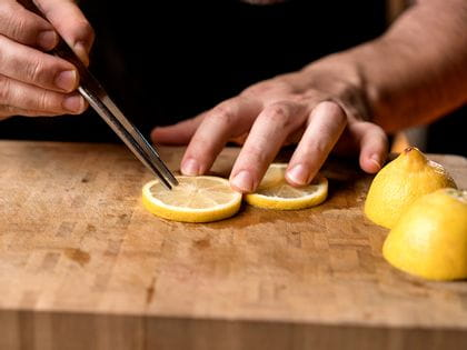 Preparation of a lemon