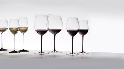Sommeliers Black Tie - The RIEDEL glass series with a touch of glamour.