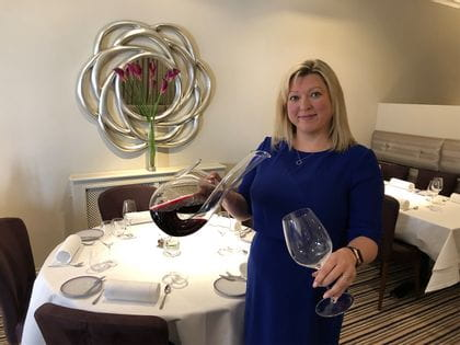 RIEDEL's Sommelier of the Month for December 2019 is Helen Howe
