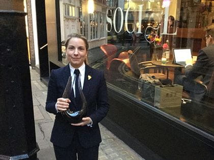 RIEDEL's sommelier of the month for May 2015 is Laure Patry