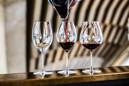RIEDEL Veritas Tasting Set (RIEDEL Veritas New World Pinot Noir Glass, RIEDEL Veritas Syrah glass and RIEDEL Veritas Cabernet glass)