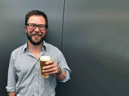 Charles Whitting, Editor of Beer & Brewer Magazine